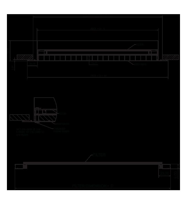 Eggcrate Grilles - Model EC-HF