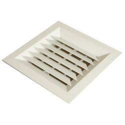 Metal Louvre Face Diffusers (Model LFD) - One Way Blow
