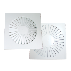 Square Swirl Diffusers - Model PSC