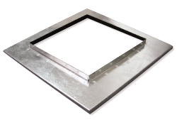 Steel Neck Adaptor - Square to Square - Model NA-SS