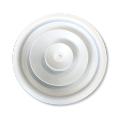 Round Ceiling Diffusers - Adjustable